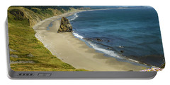 Cape Blanco On The Oregon Coast By Michael Tidwell Portable Battery Charger