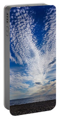 Portable Battery Charger featuring the photograph Cape Clouds by Kendall McKernon