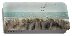 Cape Cod Beach Scene Portable Battery Charger