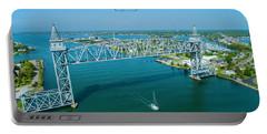 Cape Cod Canal Suspension Bridge Portable Battery Charger