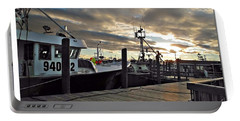 Portable Battery Charger featuring the photograph Cape Cod Harbor by Joan  Minchak