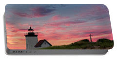 Portable Battery Charger featuring the photograph Cape Cod Long Point Light by Bill Wakeley