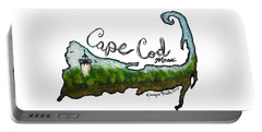 Portable Battery Charger featuring the photograph Cape Cod, Mass. by Monique Faella