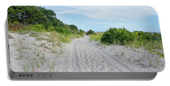 Cape Cod Sandy Walk Portable Battery Charger