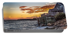 Portable Battery Charger featuring the photograph Cape Cod September by Kendall McKernon