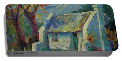 Cape Cottage With Mountains Art Bertram Poole Portable Battery Charger