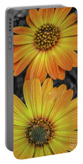 Cape Daisy's - Orange Portable Battery Charger