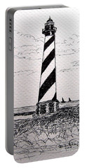 Cape Hatteras Lighthouse Nc Portable Battery Charger