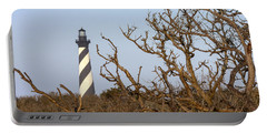 Cape Hatteras Lighthouse Through The Brush Portable Battery Charger