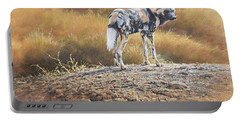 Cape Hunting Dog Portable Battery Charger