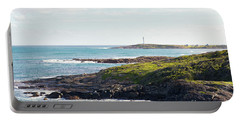 Portable Battery Charger featuring the photograph Cape Leeuwin Lighthouse by Ivy Ho