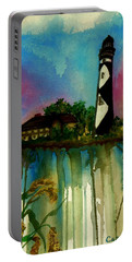Cape Lookout Portable Battery Charger by Lil Taylor