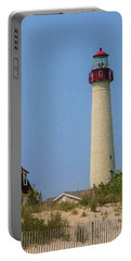 Cape May Lighthouse Vertical Portable Battery Charger