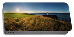 Cape Tryon Lighthouse Sunset Portable Battery Charger