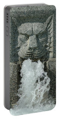Senate Fountain Lion Portable Battery Charger