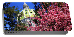 Capitol In Bloom Portable Battery Charger