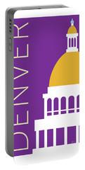 Denver Capitol/purple Portable Battery Charger