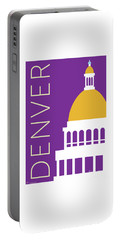 Denver Capitol/purple Portable Battery Charger