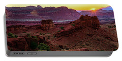 Capitol Reef Sunrise Portable Battery Charger