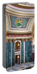 Capitol Rotunda -madison - Wisconsin Portable Battery Charger