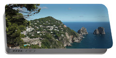 Faraglioni Rocks Capri  Portable Battery Charger