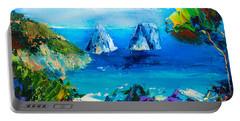 Capri Colors Portable Battery Charger