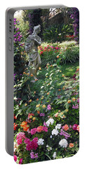 Capri Street Scene Garden Portable Battery Charger by Jodie Marie Anne Richardson Traugott          aka jm-ART