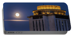 Capstone House And Full Moon Portable Battery Charger