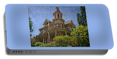 Portable Battery Charger featuring the photograph Captain George Flavel House by Thom Zehrfeld