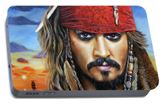 Captain Jack Portable Battery Charger by Arie Van der Wijst