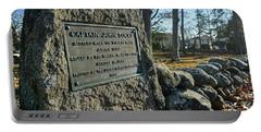 Captain John Locke Monument  Portable Battery Charger
