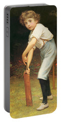 Captain Of The Eleven Portable Battery Charger by Philip Hermogenes Calderon