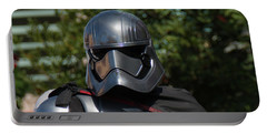 Portable Battery Charger featuring the photograph Captain Phasma - The Force Awakens by John Black