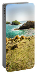Captivating Coastal Cliff Portable Battery Charger