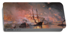 Capture Of New Orleans By Union Flag Officer David G Farragut Portable Battery Charger