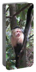 Capuchin Monkey 4 Portable Battery Charger