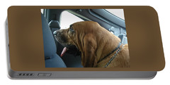 Car Ride Portable Battery Charger by Val Oconnor