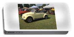 Portable Battery Charger featuring the photograph Car Show by Aaron Martens
