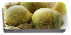 Caradamon-lemon Chocolate Portable Battery Charger by Sabine Edrissi