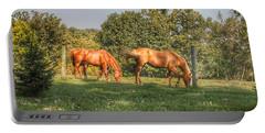 1006 - Caramel Horses I Portable Battery Charger