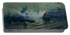 Cardiff Docks Portable Battery Charger by Lionel Walden