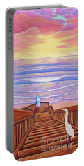 Cardiff Sunset Portable Battery Charger