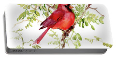 Cardinal Bird Portable Battery Charger