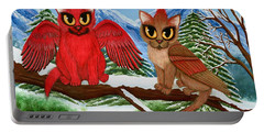 Cardinal Cats Portable Battery Charger