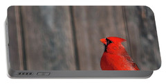 Cardinal Drinking Portable Battery Charger