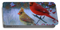 Cardinal Family Portable Battery Charger