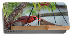Cardinal Feeding  Portable Battery Charger