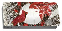 Cardinal Holiday I Portable Battery Charger