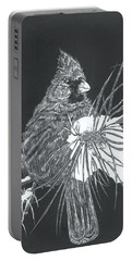 Cardinal Scratch Board Portable Battery Charger