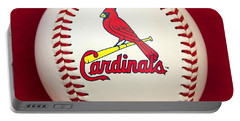 Cardinals Portable Battery Charger by Steve Stuller